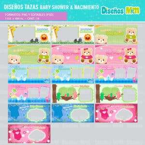 Diseño-templates-plantillas-shower-nacimiento-baby-born-niño-boy-niña-girl-birth-tazas-mug-vaso_11