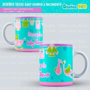 Diseño-templates-plantillas-shower-nacimiento-baby-born-niño-boy-niña-girl-birth-tazas-mug-vaso_2