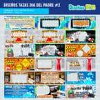 PLANTILLAS DIA DEL PADRE PARA TAZAS PACK # 2