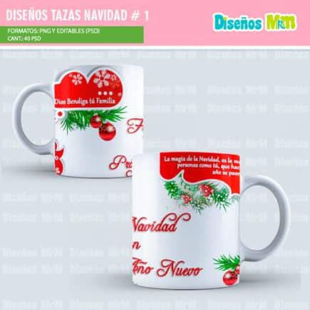 Disenos Para Mug Calendarios Navidad 2018