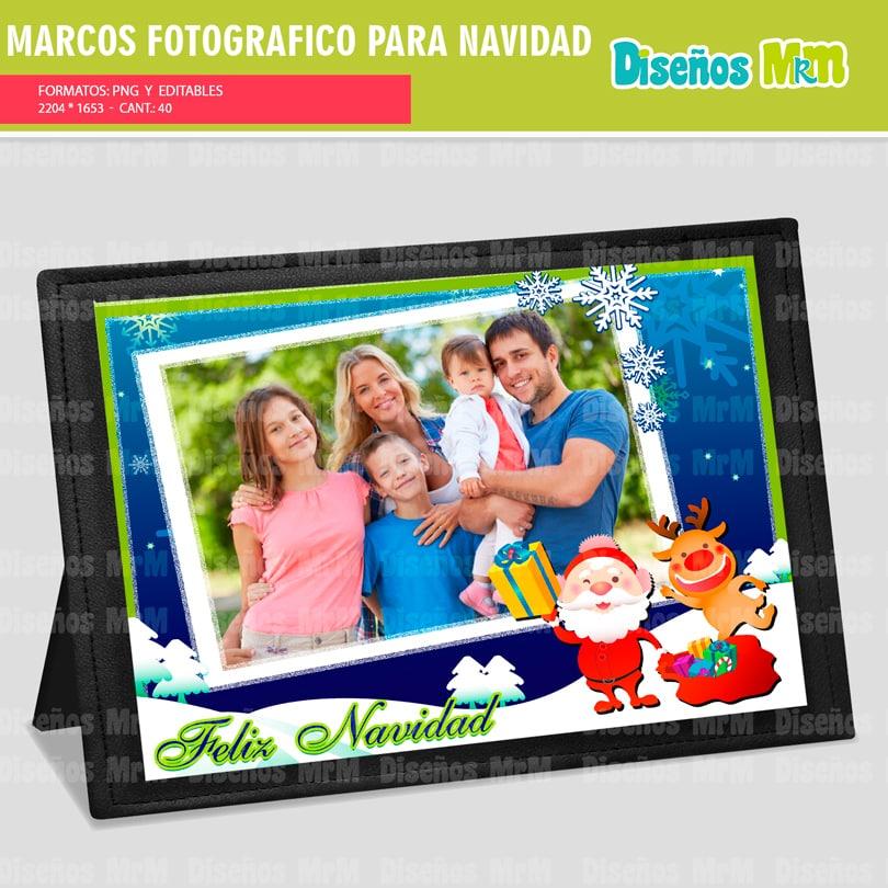 MARCOS FOTOGRAFICOS NAVIDAD