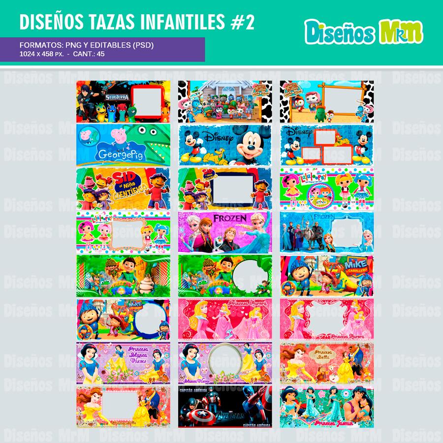 SUBLIMAR MUGS INFANTILES 2 | PLANTILLAS & DISEÑOS.