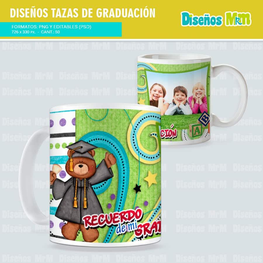 Dise os para tazas mugs motivo graduacion - Tazas de cafe de diseno ...