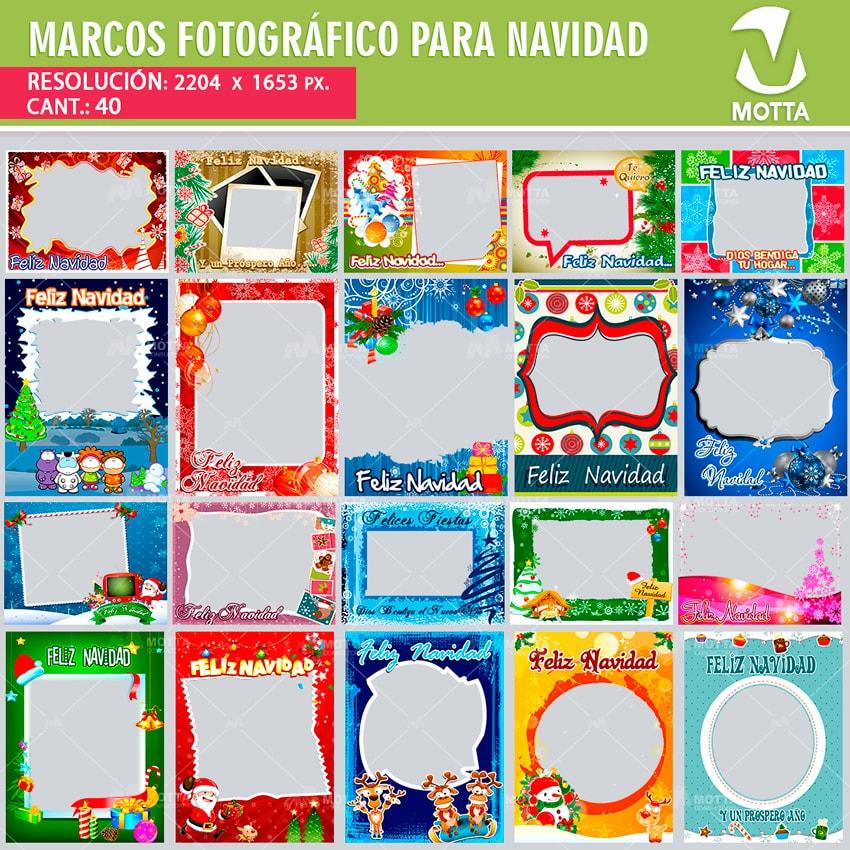 MARCOS FOTOGRÁFICOS NAVIDAD