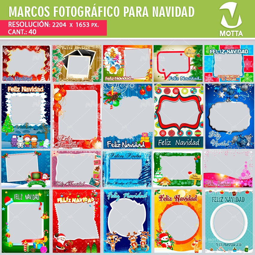 MARCOS FOTOGRÁFICOS NAVIDAD - MOTTACONSULTA