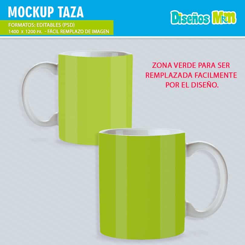 Mockup para Mugs