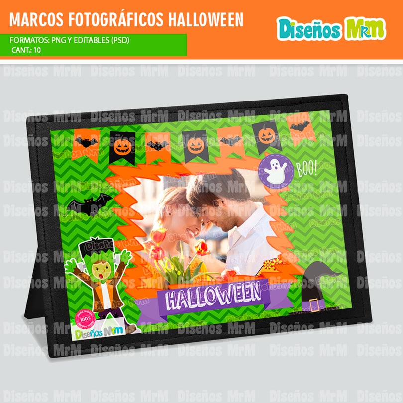 MARCOS HALLOWEEN PARA FOTOGRAFIA