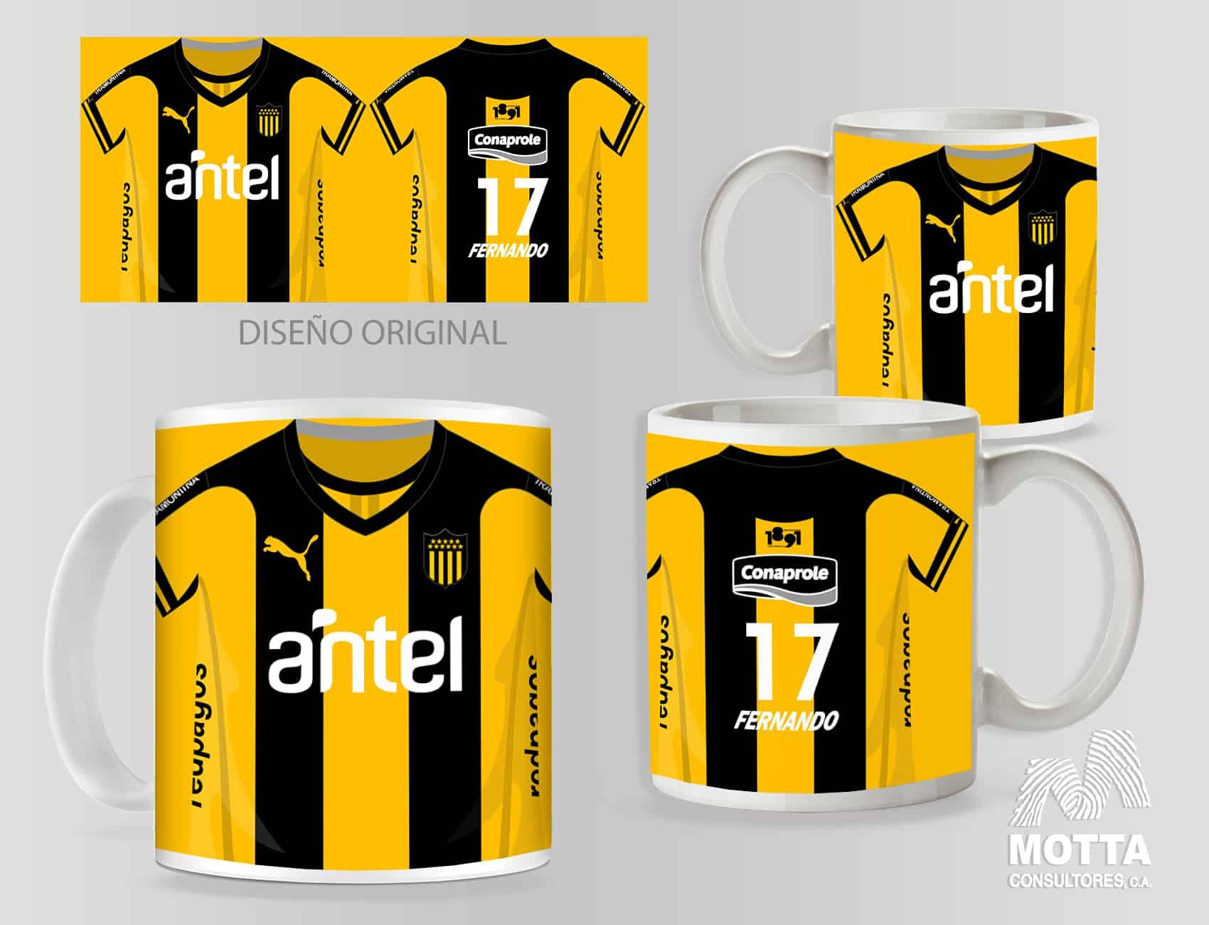 atletico penarol para mugs