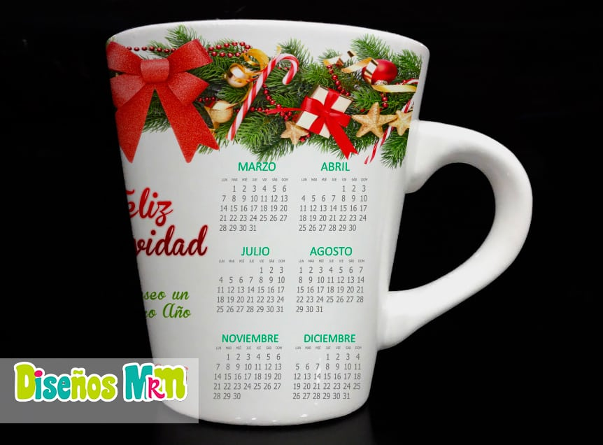 CALENDARIOS 2016 MUG CONICO