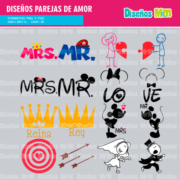 Estampar en pareja de amor diversos formatos for Disenos para estampar