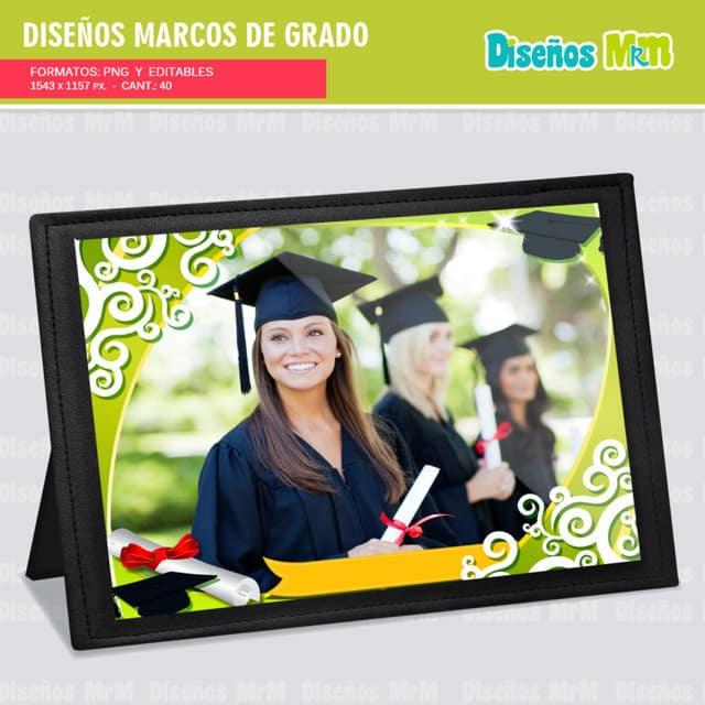 DISEÑO DE MARCOS GRADUACIÓN