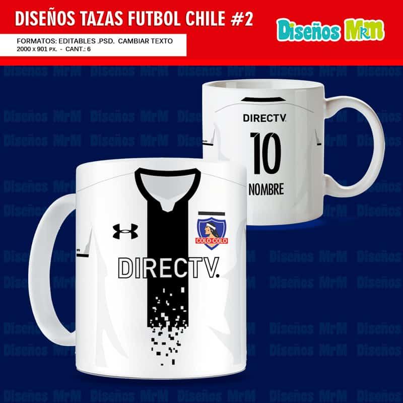 futbol chile: diseÑos para mugs de camisetas