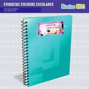 etiquetas-sticker-minie-mouse-escolar-estudiante-escuela-colegio-personalizar-3