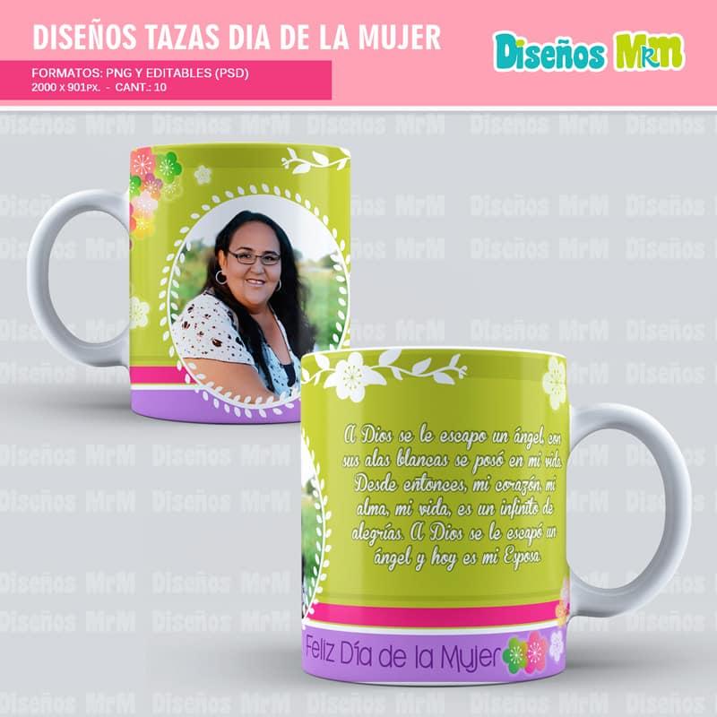 Diseño-plantilla-dibujo-taza-mugs-vaso-personalizado-sublimacion-mujer-dia-woman-chica-festejar-8-marzo_3