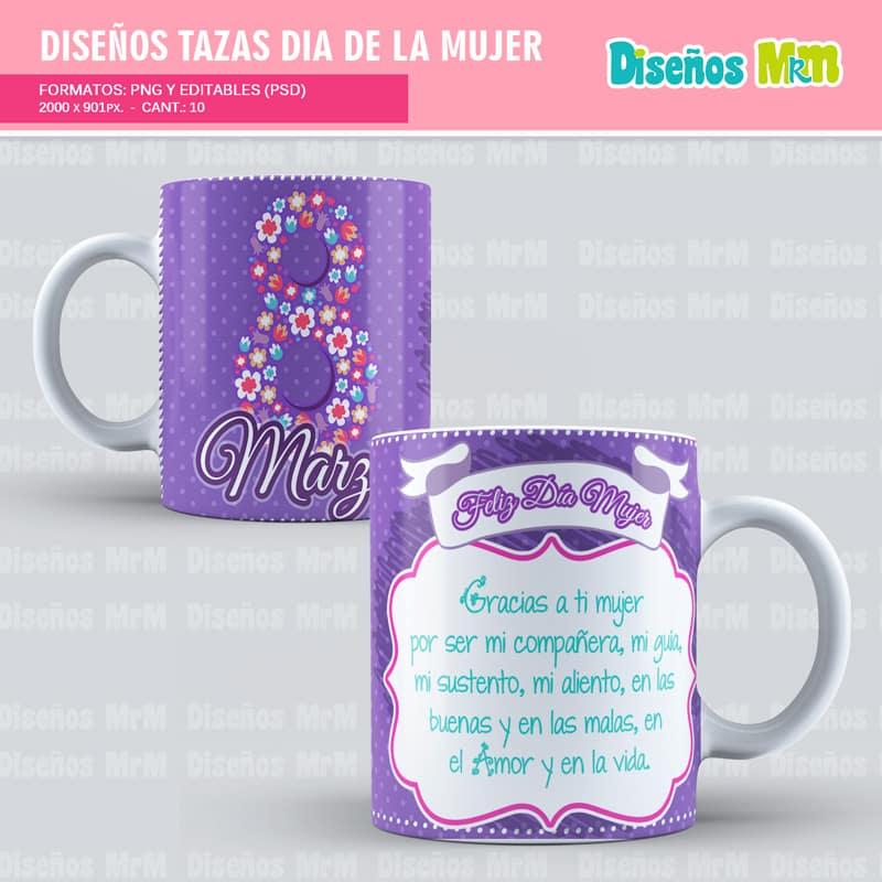 Diseño-plantilla-dibujo-taza-mugs-vaso-personalizado-sublimacion-mujer-dia-woman-chica-festejar-8-marzo_4