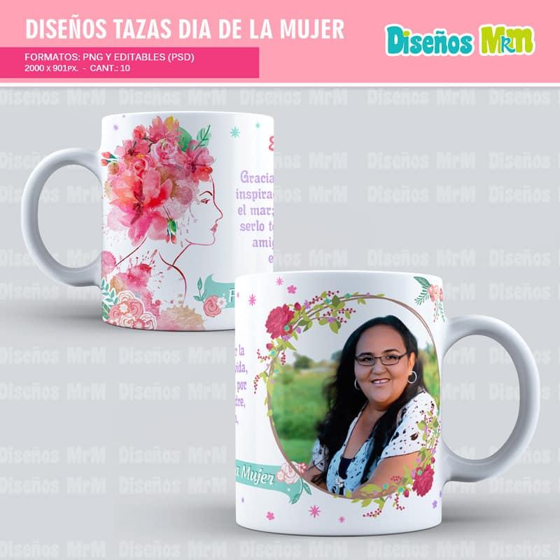 Diseño-plantilla-dibujo-taza-mugs-vaso-personalizado-sublimacion-mujer-dia-woman-chica-festejar-8-marzo_6