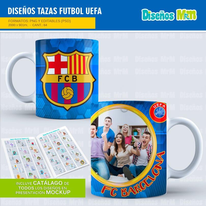 Futbol uefa dise os para tazones y mugs - Diseno de producto madrid ...