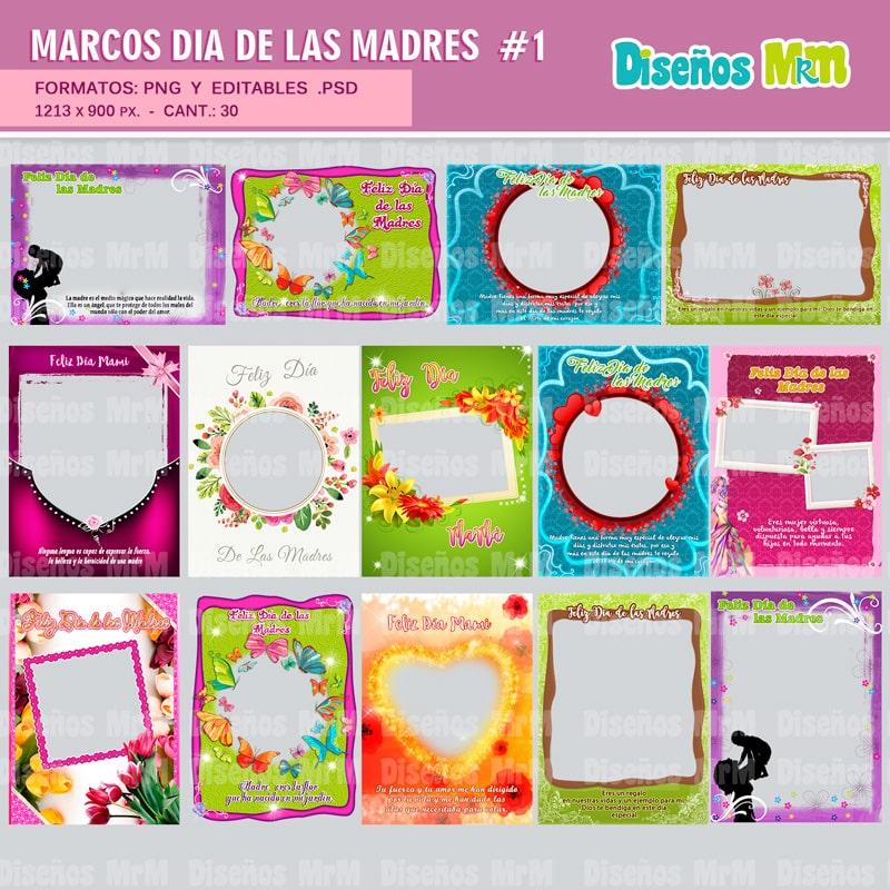 Marcos Fotograficos Dia de la Madre | Para Estampar y Mas...