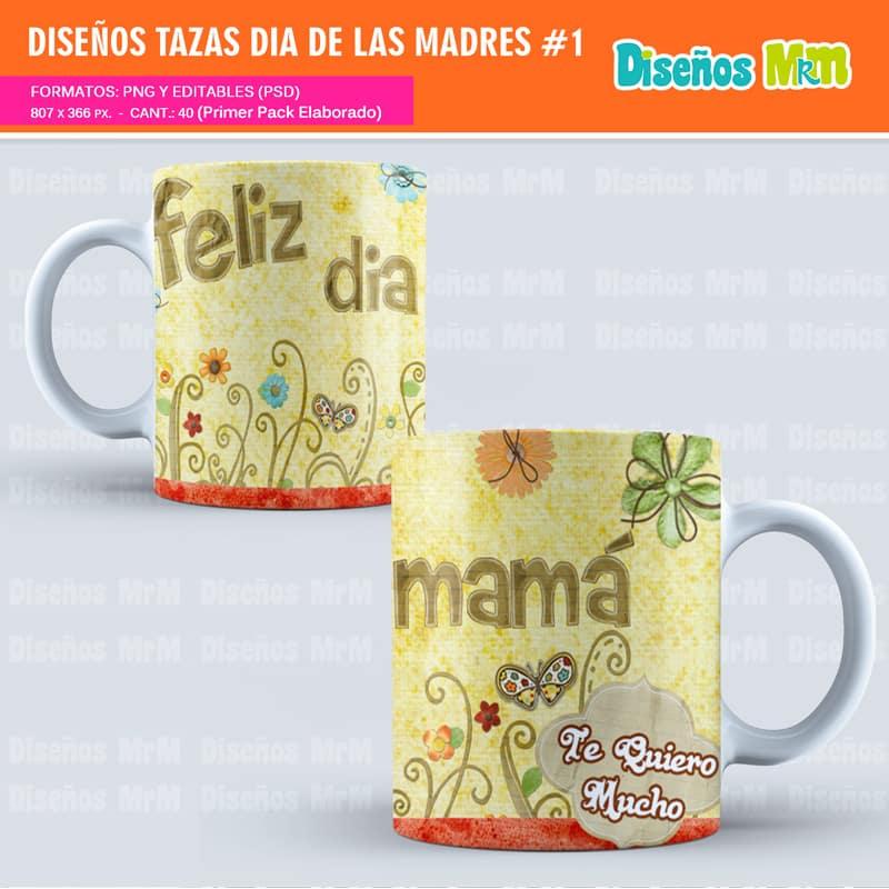 Sublimación dia de la Madre   Estampar Mugs
