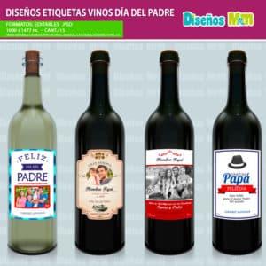 Etiqueta-diseño-label-plantilla-vino-personalizado-dia-del-padre-papa-father-dad-botella-chile_2