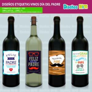 Etiqueta-diseño-label-plantilla-vino-personalizado-dia-del-padre-papa-father-dad-botella-chile_3