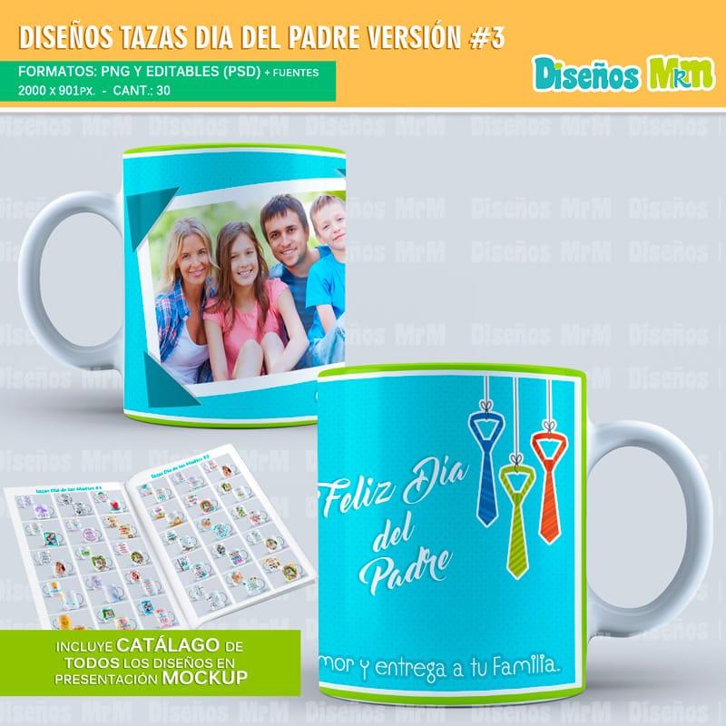 Plantillas-diseños-sublimacion-papa-dia-del-padre-father-junio-taza-vaso-mug-tazones_2
