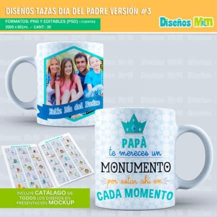 Plantillas-diseños-sublimacion-papa-dia-del-padre-father-junio-taza-vaso-mug-tazones_7