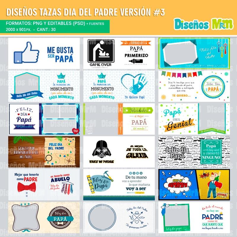 Plantillas-diseños-sublimacion-papa-dia-del-padre-father-junio-taza-vaso-mug-tazones_8