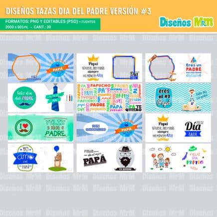 Plantillas-diseños-sublimacion-papa-dia-del-padre-father-junio-taza-vaso-mug-tazones_9