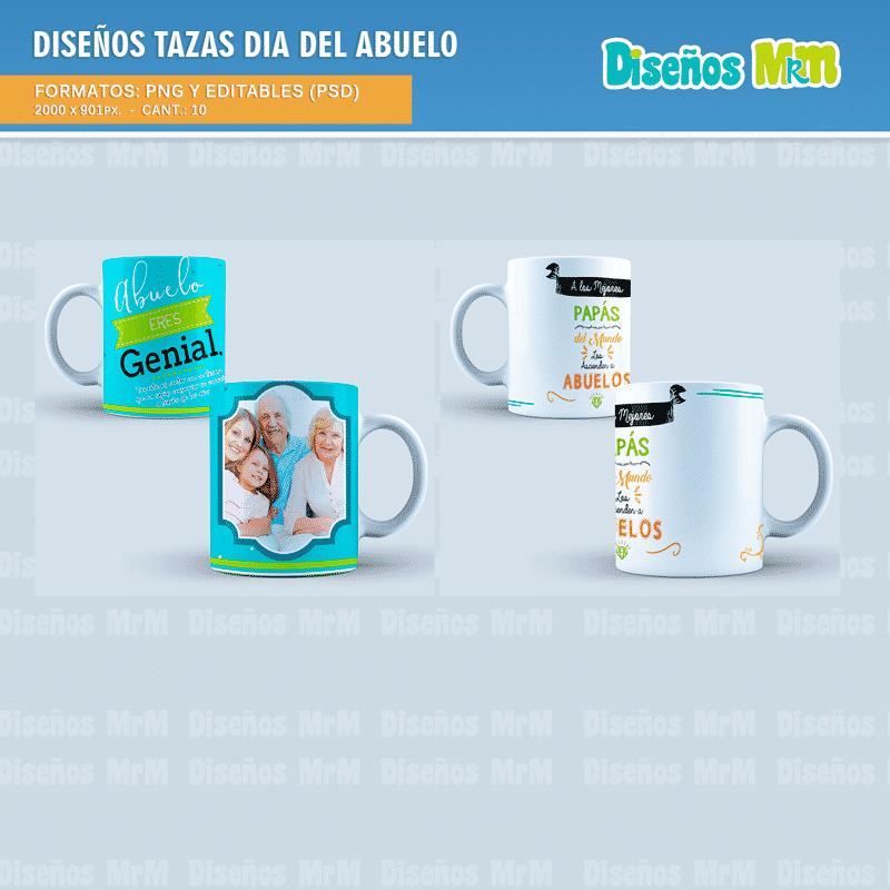 Diseños-Plantillas-tazas-tazones-sublimacion-personalizado-dia-del-abuelo-grandfather-nono-abuela-nona-nana-grandmother_5