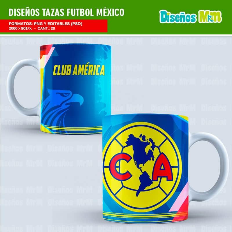 Diseño-plantillas-mug-taza-sublimacion-vasos-personalizado-mexico-futbol-rivers-deportivo-clubes-club-america-chicharito-guadalajara-toluca-puma-monarca_1