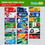 TEMPLATES FUTBOL MEXICANO PARA SUBLIMAR MUGS