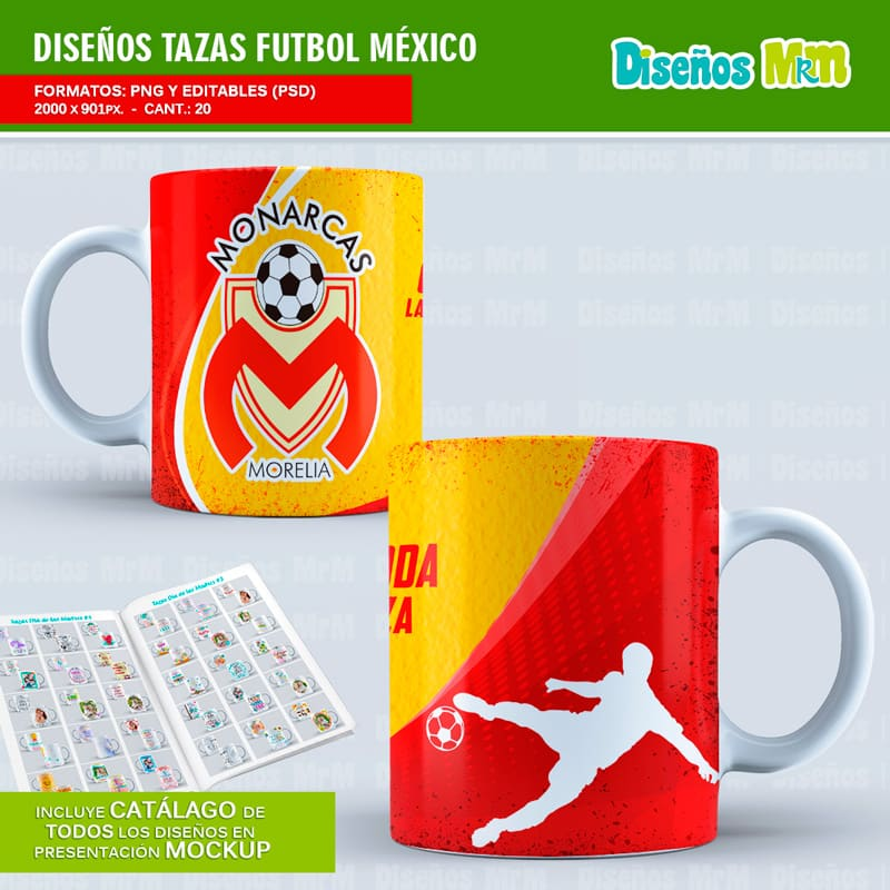 Diseño-plantillas-mug-taza-sublimacion-vasos-personalizado-mexico-futbol-rivers-deportivo-clubes-club-america-river-guadalajara-toluca-puma-monarca_4