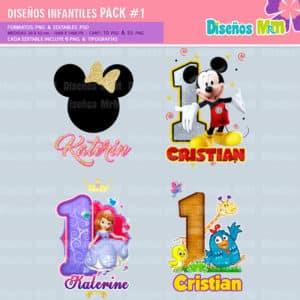 Diseños-Infantiles-dibujos-franelas-polera-camisa-personalizadas-niños-mickey-minnie-capitan-princesas-bella-paw-patrol-ballet-peppa-gallinita-pintadita-sofia_8