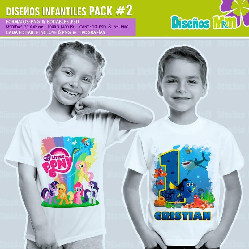 Diseños-Infantiles-dibujos-franelas-polera-camisa-personalizadas-niños-soy-luna-hombre-araña-spiderman-cenicienta-frozen-cars-circo-pony-dory-vengadores-hadas-bebes_2