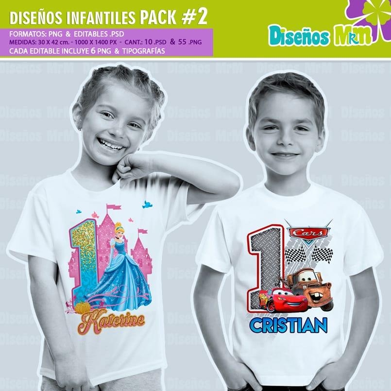 Diseños-Infantiles-dibujos-franelas-polera-camisa-personalizadas-niños-soy-luna-hombre-araña-spiderman-cenicienta-frozen-cars-circo-pony-dory-vengadores-hadas-bebes_4