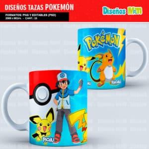 Diseños-Plantillas-Templates-sublimacion-tazas-mug-vasos-pokemon-GO-pikachu-lejendarios-ash-equipo-roque-moltres-articuno-zapdos-charmander-chile-colombia_1