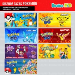 Diseños-Plantillas-Templates-sublimacion-tazas-mug-vasos-pokemon-GO-pikachu-lejendarios-ash-equipo-roque-moltres-articuno-zapdos-charmander-chile-colombia_10
