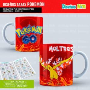 Diseños-Plantillas-Templates-sublimacion-tazas-mug-vasos-pokemon-GO-pikachu-lejendarios-ash-equipo-roque-moltres-articuno-zapdos-charmander-chile-colombia_3