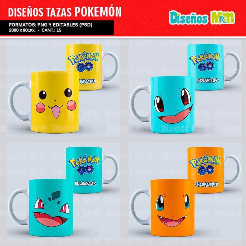 Diseños-Plantillas-Templates-sublimacion-tazas-mug-vasos-pokemon-GO-pikachu-lejendarios-ash-equipo-roque-moltres-articuno-zapdos-charmander-chile-colombia_6