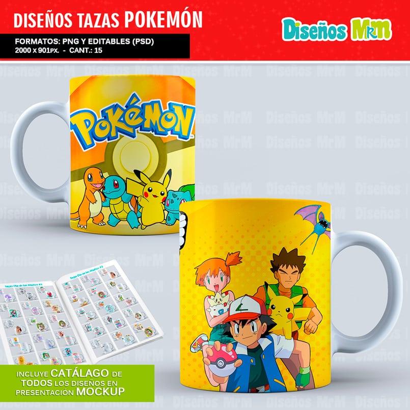 Diseños-Plantillas-Templates-sublimacion-tazas-mug-vasos-pokemon-GO-pikachu-lejendarios-ash-equipo-roque-moltres-articuno-zapdos-charmander-chile-colombia_8