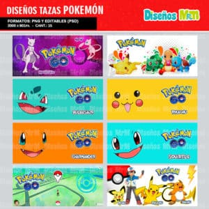 Diseños-Plantillas-Templates-sublimacion-tazas-mug-vasos-pokemon-GO-pikachu-lejendarios-ash-equipo-roque-moltres-articuno-zapdos-charmander-chile-colombia_9