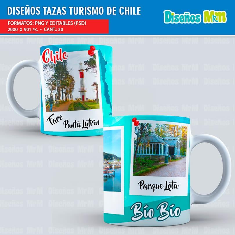 Diseños-Plantillas-templates-sublimación-tazas-mug-turismo-chile-bio-bio-los-lagos-viña-del-mar-valparaiso-metropolitana-iquique-pascua-chiloe-coquimbo_2
