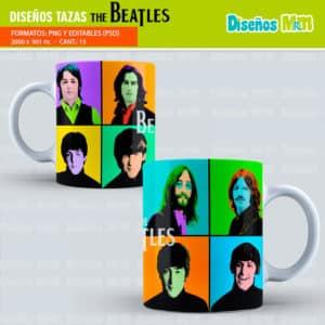 Diseños-plantillas-tazas-sublimacion-cantante-the-beatles-John-Lennon-Design-templates-cups-sublimation-singer-mugs-chile-colombia-miami-uruguay_1