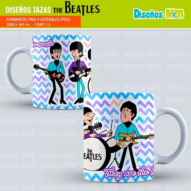 Diseños-plantillas-tazas-sublimacion-cantante-the-beatles-John-Lennon-Design-templates-cups-sublimation-singer-mugs-chile-colombia-miami-uruguay_2