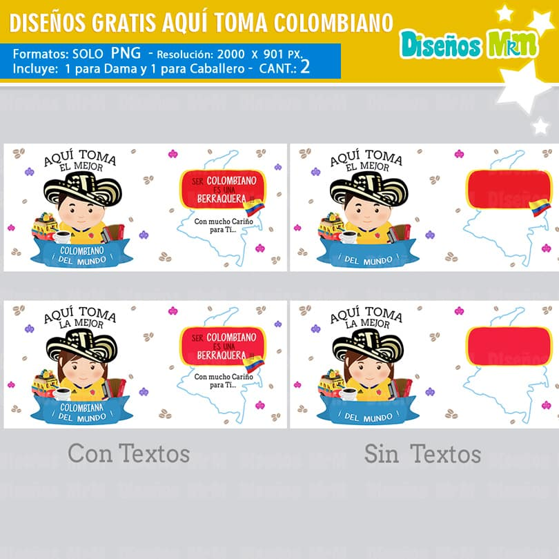 AQUÍ TOMA EL MEJOR COLOMBIANO