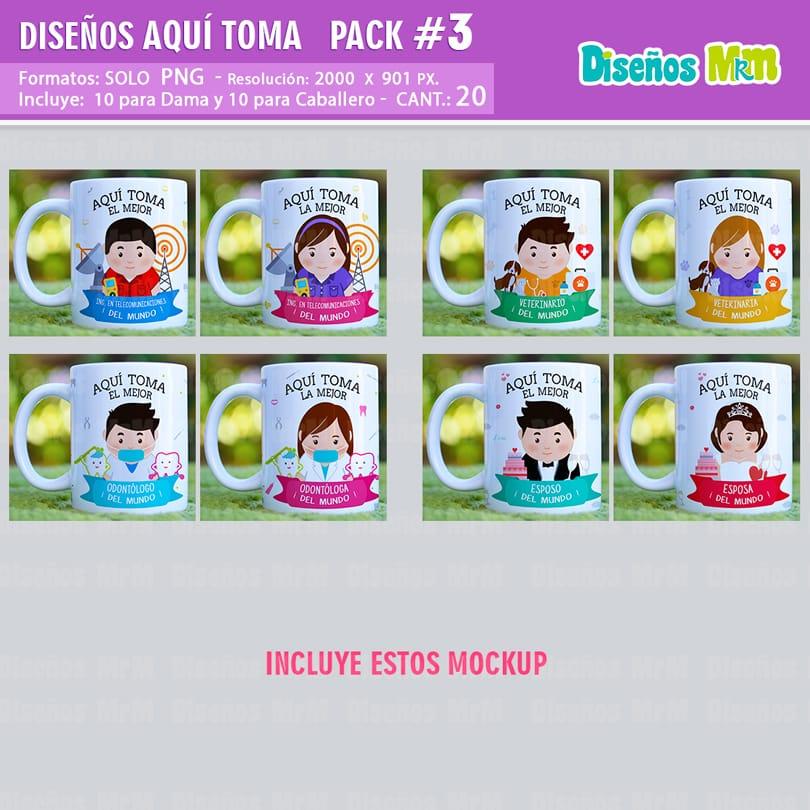 DISEÑOS DE PROFESIONES AQUI TOMA