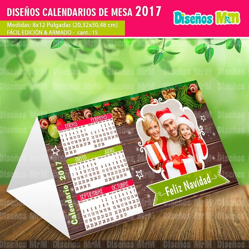 Calendarios gratis 2017 para mesa - Calendario de mesa ...