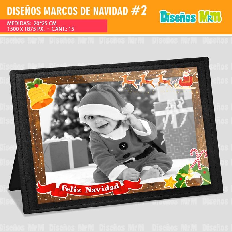 MARCOS DE NAVIDAD PARA FOTOS | FÁCILES DE USAR.