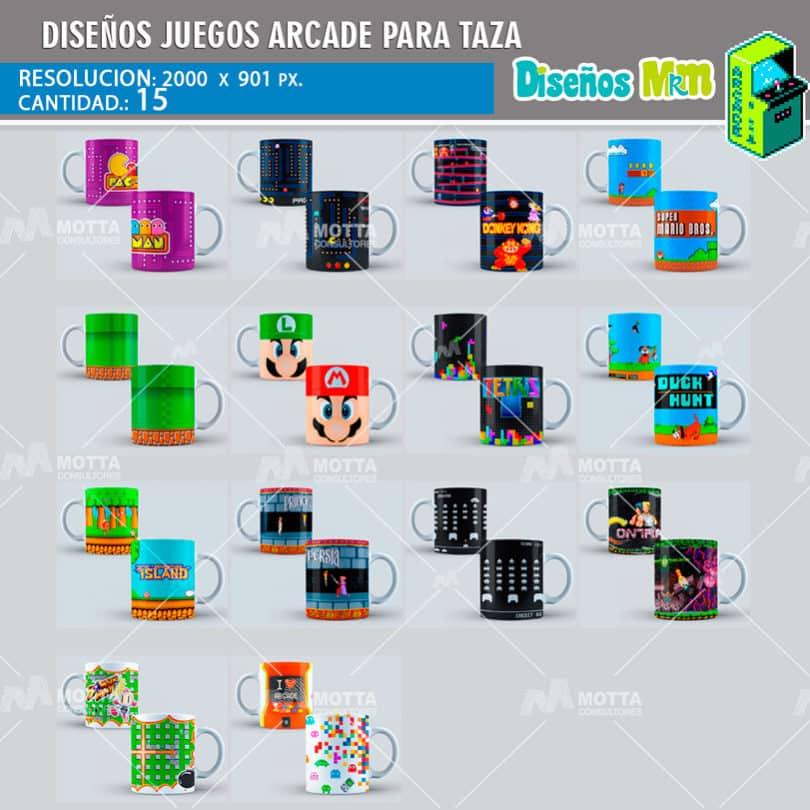 diseno-plantilla-desing-mockups-para-tazas-tazon-mug-juegos-arcade-pacman-contra-mario-islan-prince-bomberman-galaga-5